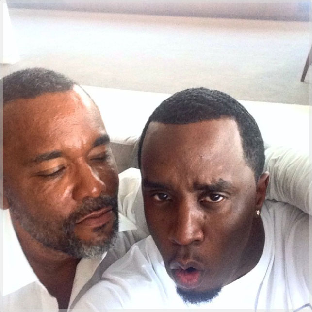 Lee Daniels and Sean Combs