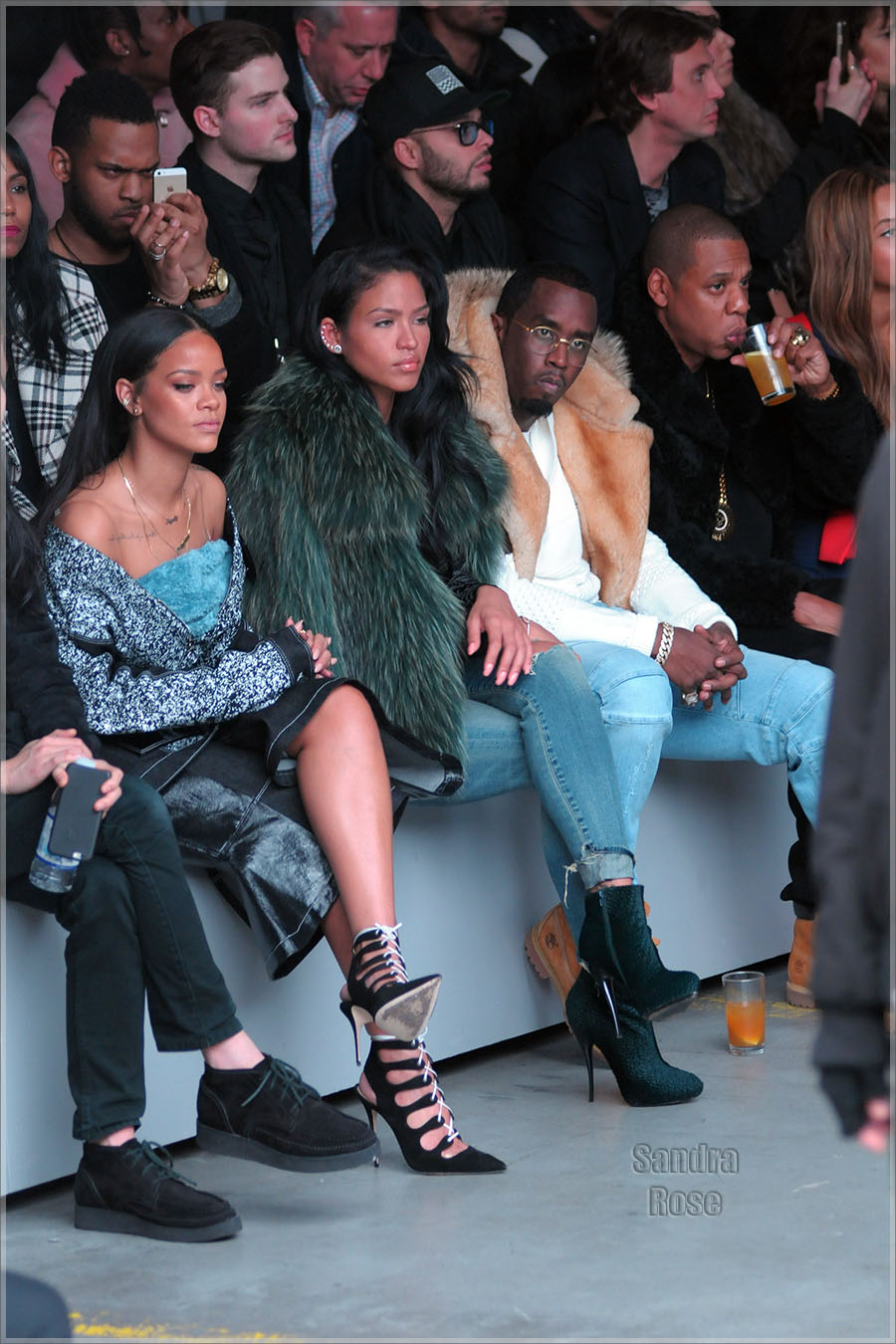 Power couples attend Adidas Originals x Kanye West YEEZY SEASON