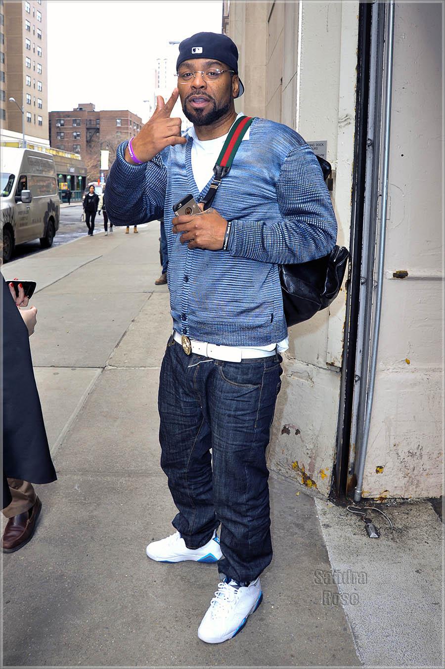 Method Man out in Manhattan