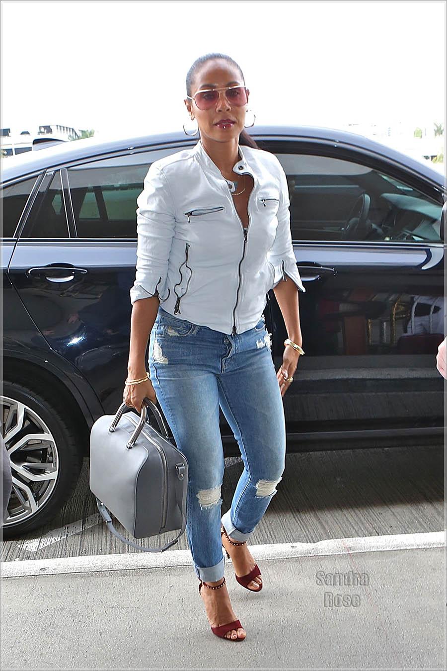 Jada Pinkett Smith Departs From Los Angeles International