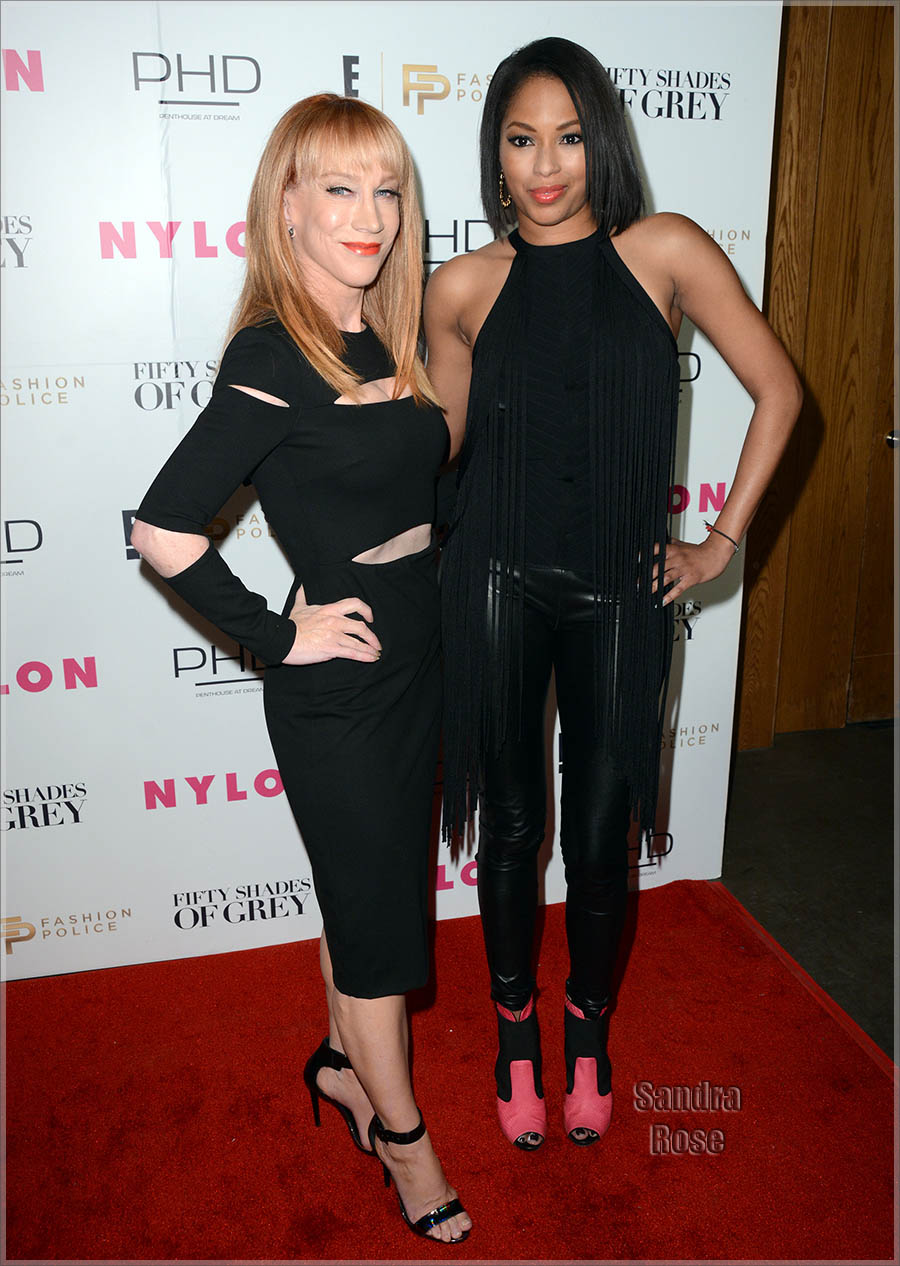 Kathy Griffin attends Fifty Shades Of Fashion in celebration