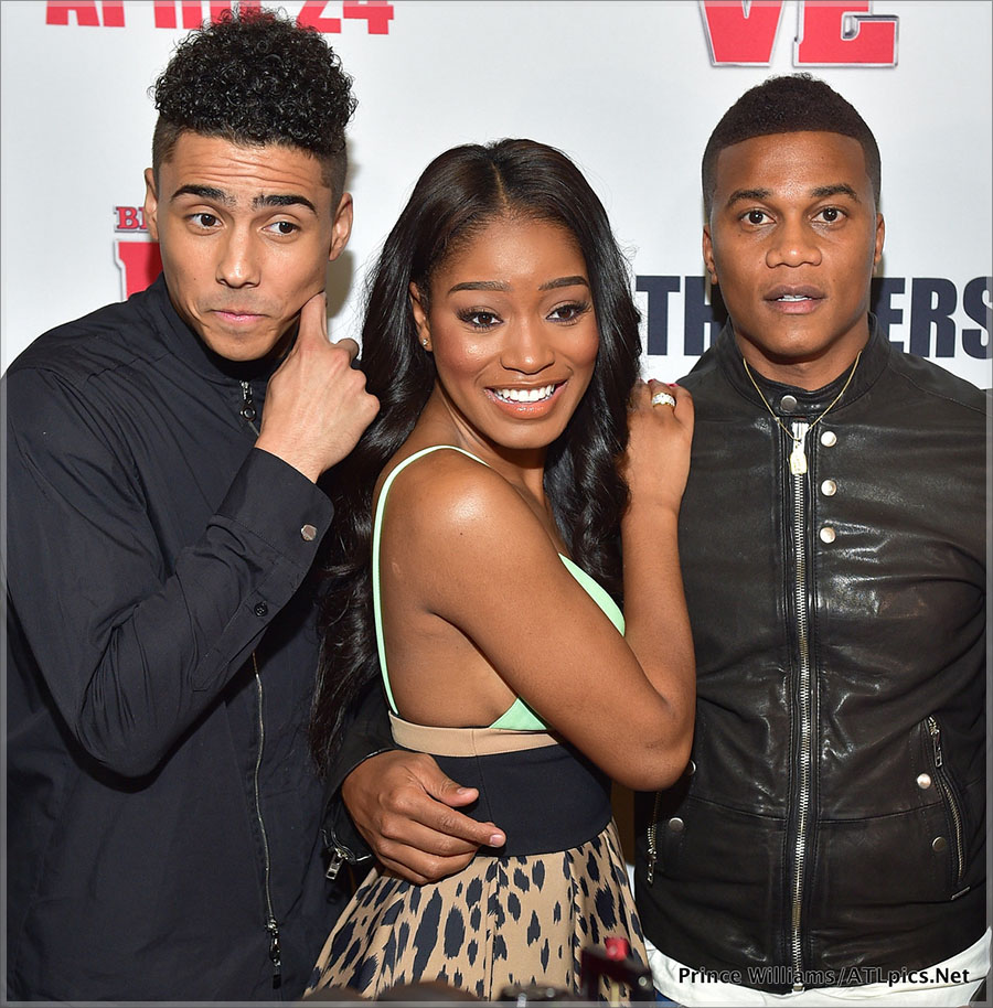 Quincy Brown, Keke Palmer, Cory Hardrict