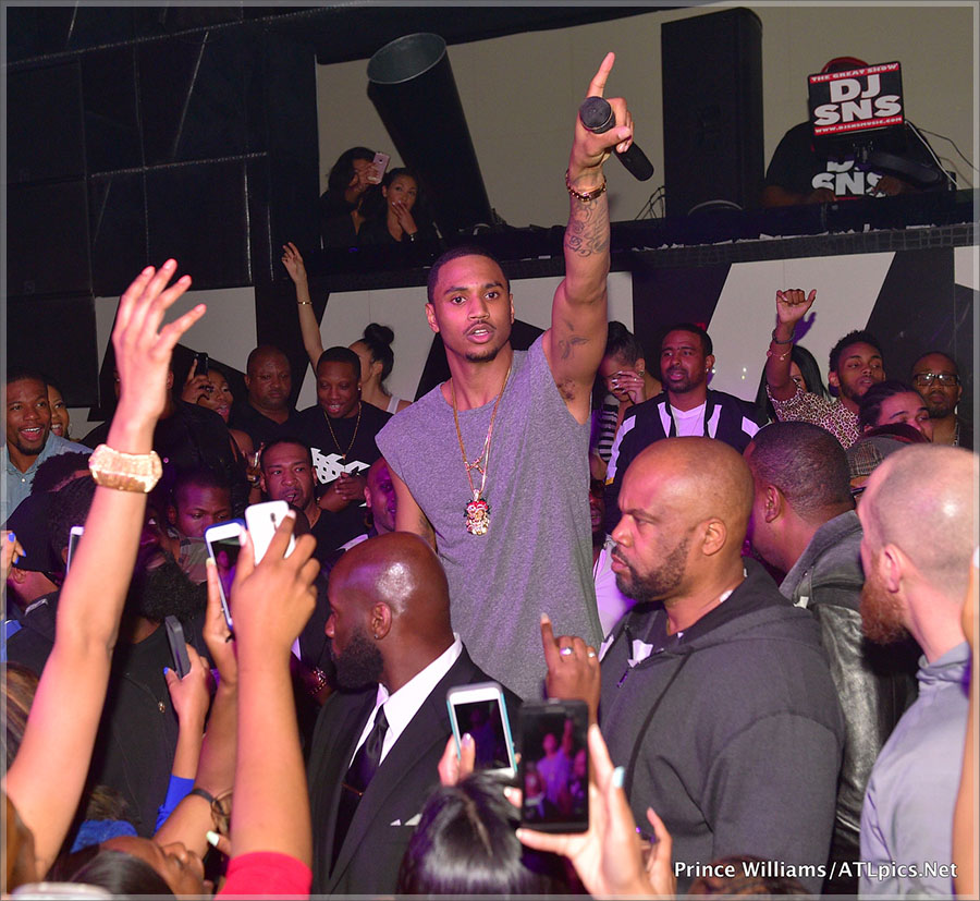 Trey Songz Keri Hilson Sevyn Streeter Host Gold Room Thursdays