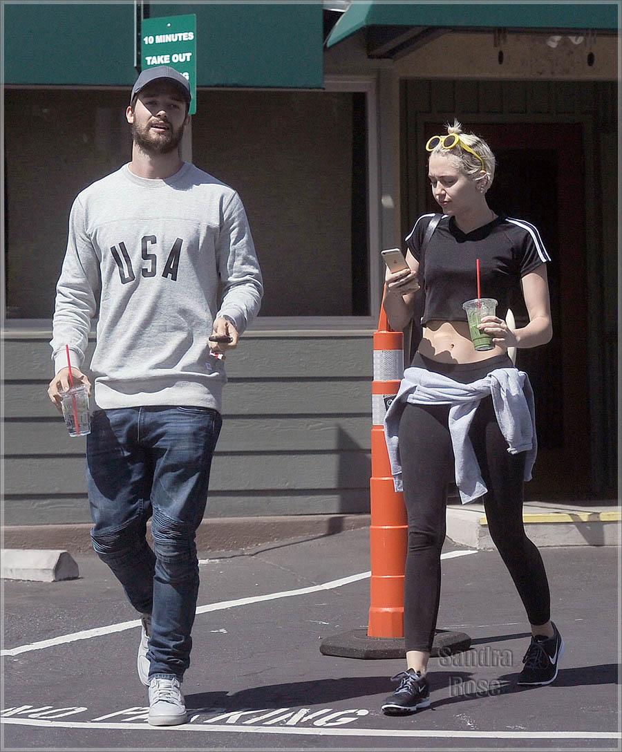 Miley Cyrus and Patrick Schwarzenegger