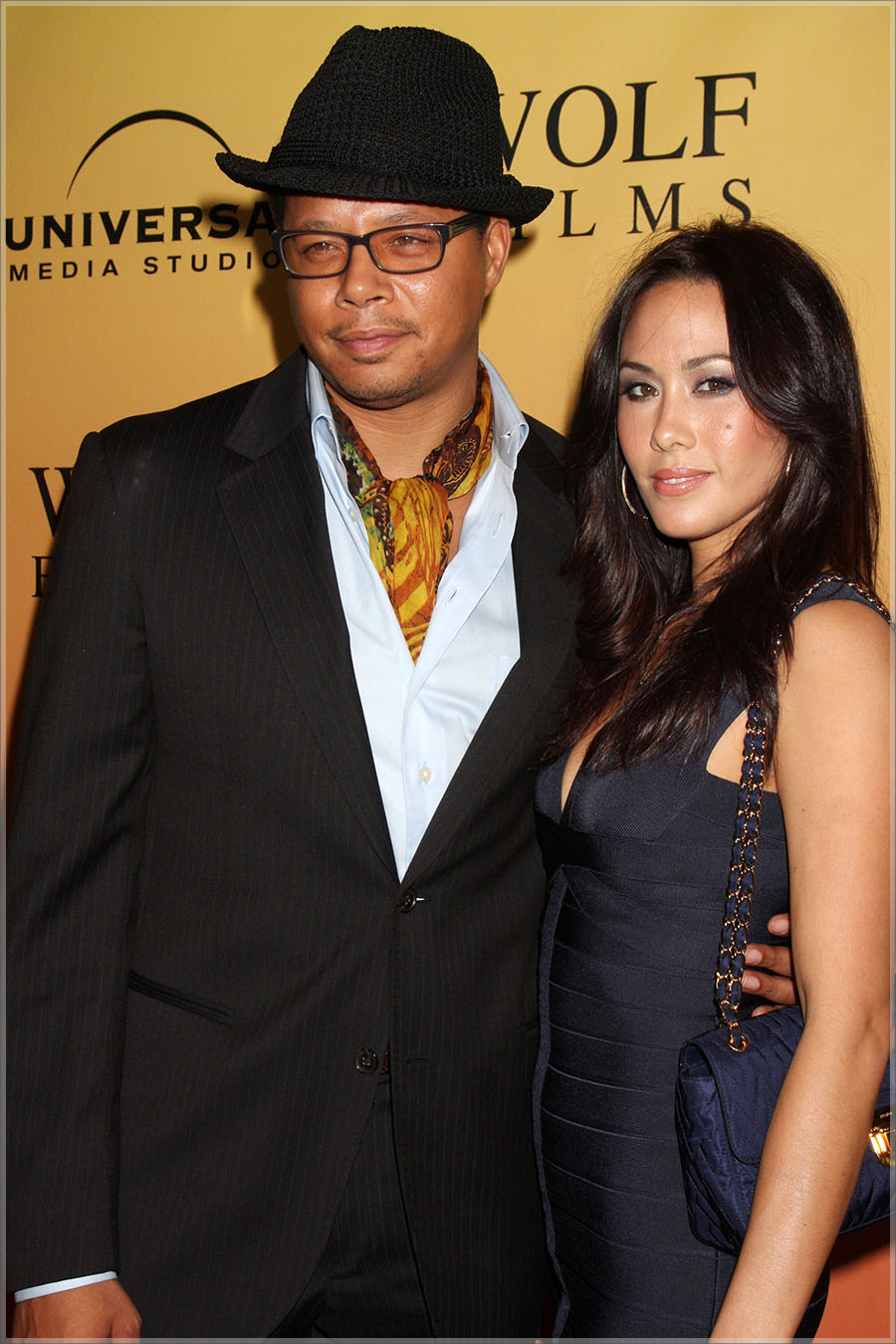 Terrence Howard and Michele Howard