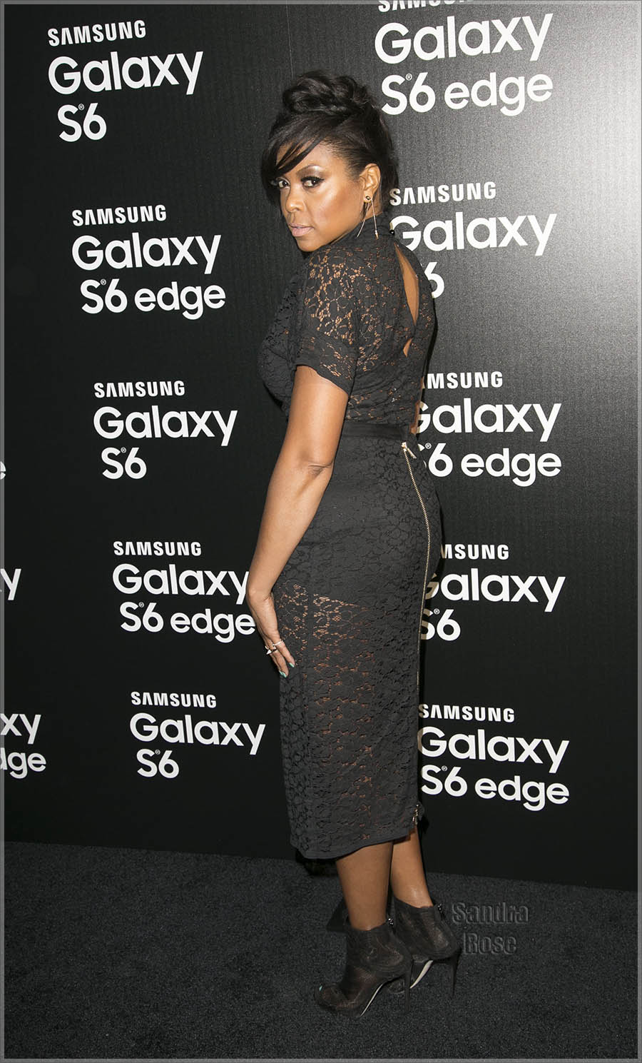 Taraji P Henson attends Samsung Celebrates Launch of Galaxy S6