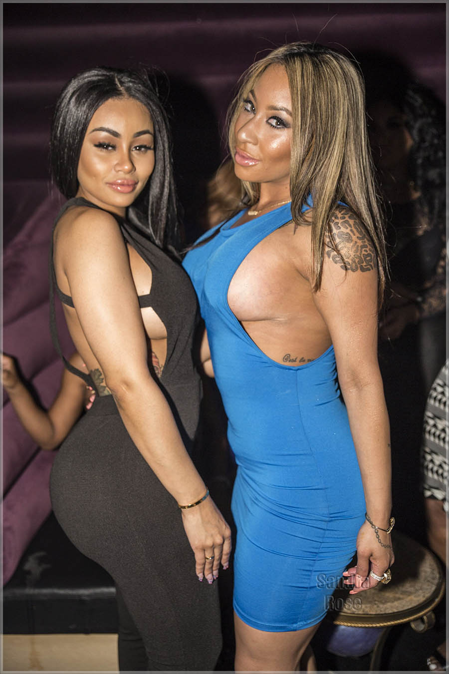 Blac Chyna and Hazel E