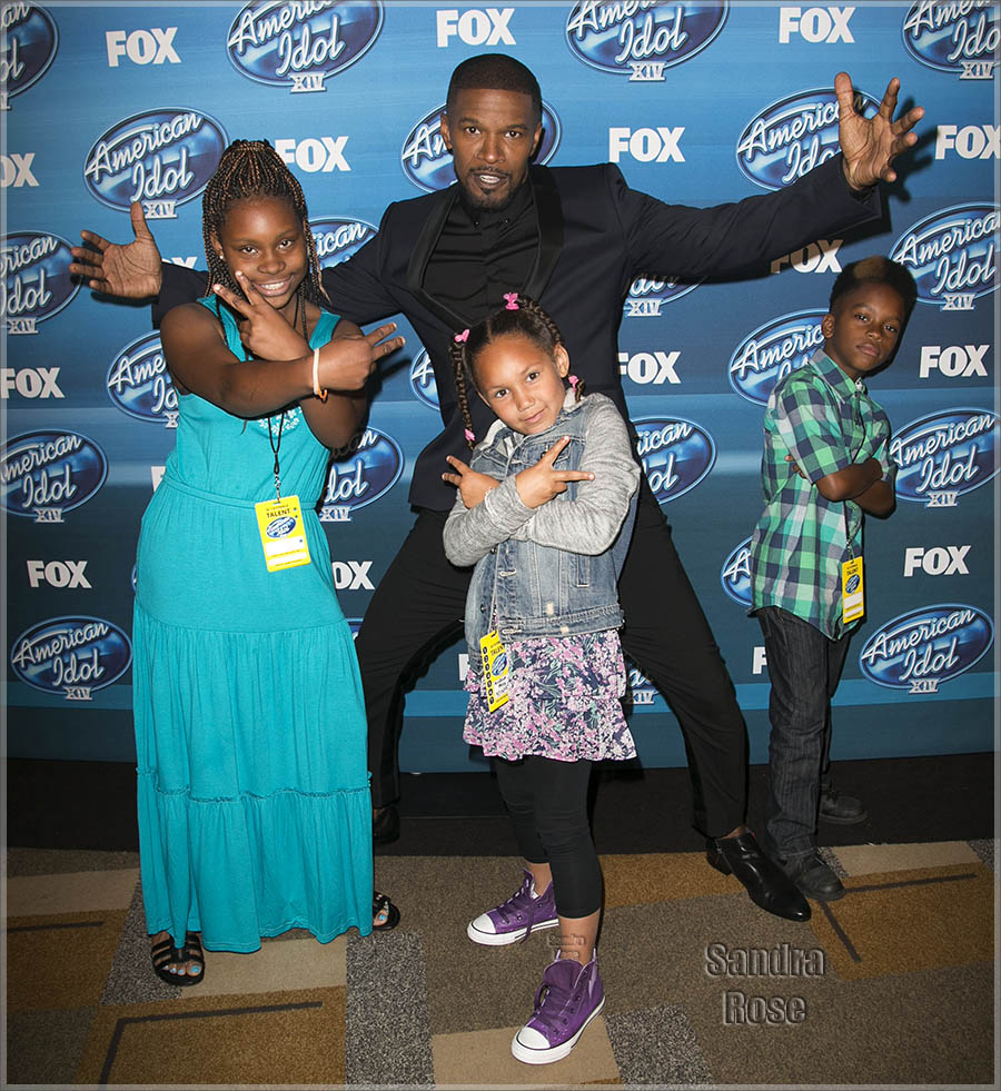 Jamie Foxx and daughter Annalise