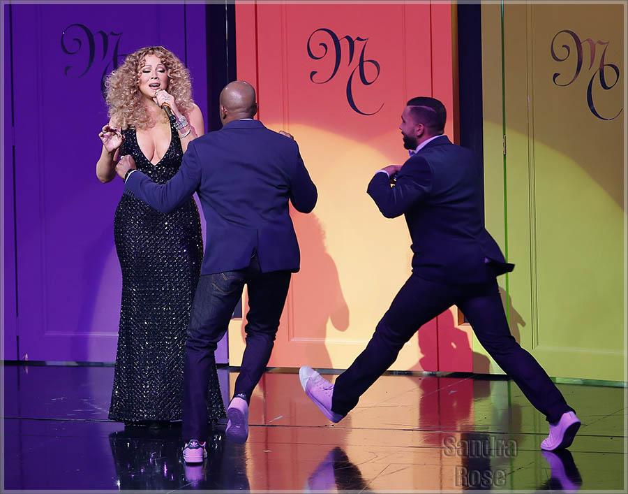 Mariah Carey in concert