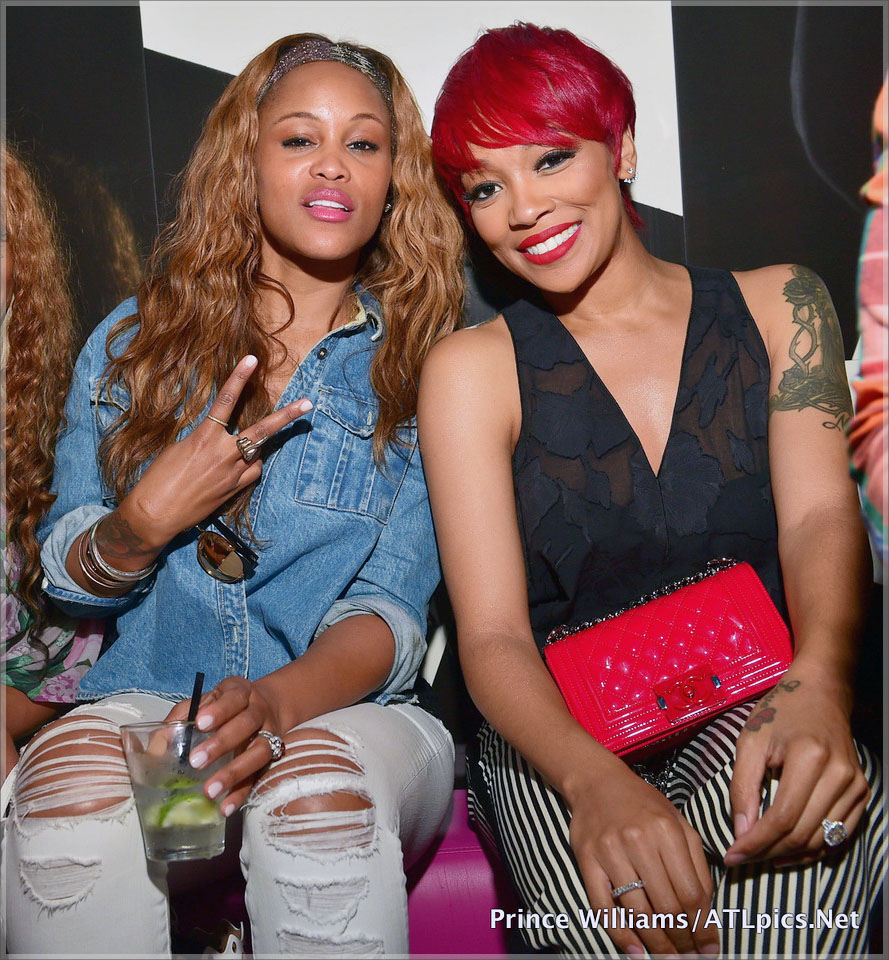 Monica Brown and Eve Host Gold Room Sundays