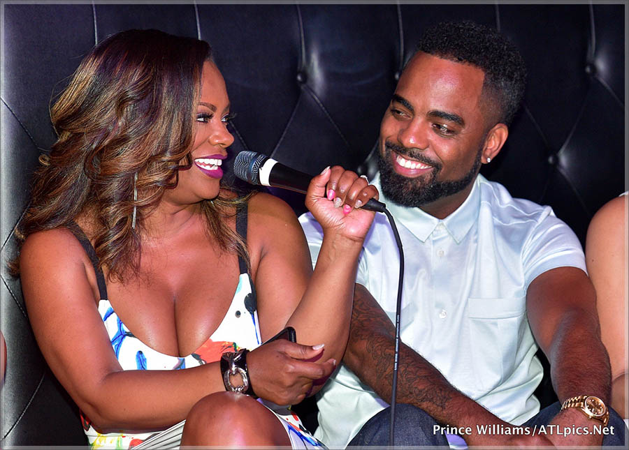 Kandi Burruss Viewing Party