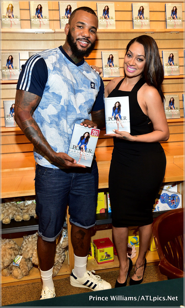 The Game and Lala Anthony