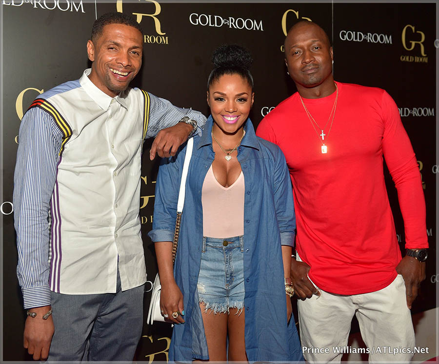 Bibby Rasheeda and Kirk Frost at Gold Room Thursdays in Atlanta