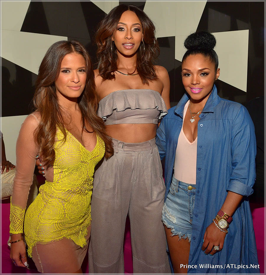 Rocsi, Keri Hilson and Rasheeda at Gold Room Thursdays in Atlanta