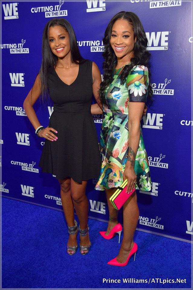 Claudia Jordan and Mimi Faust