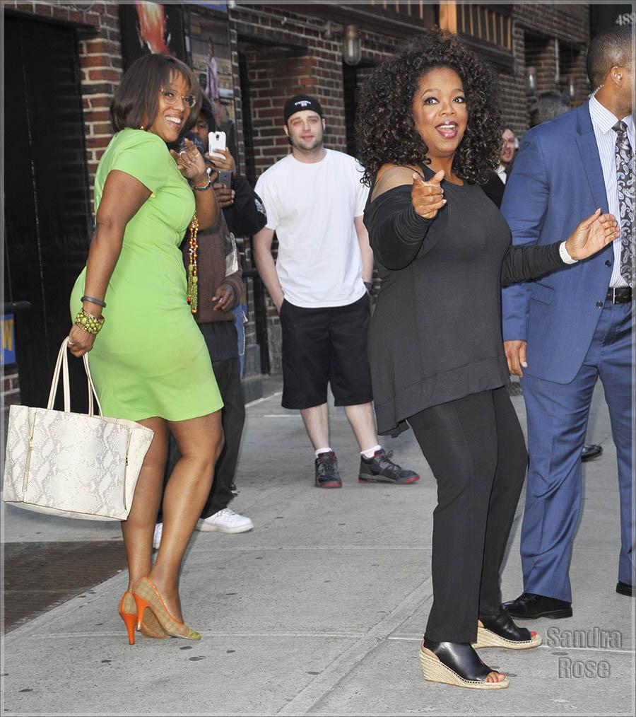 Oprah and Gayle King