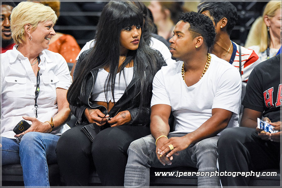 Bobby V and Jhonni Blaze