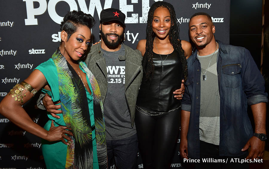 Omari Hardwick Hosts Power Screening