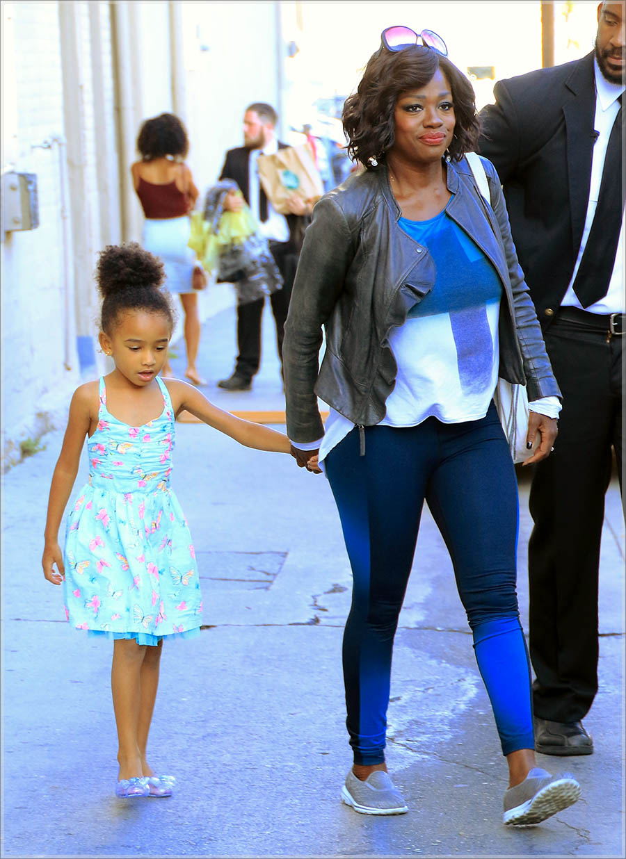 Viola Davis and daughter