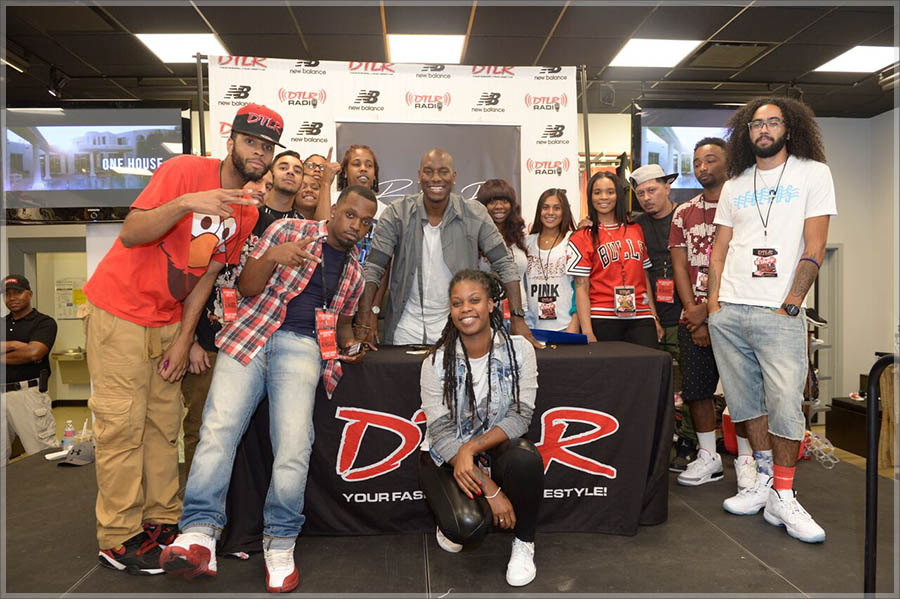 Tyrese Meet and Greet at DTLR in Maryland | Exclusiveaccess.net