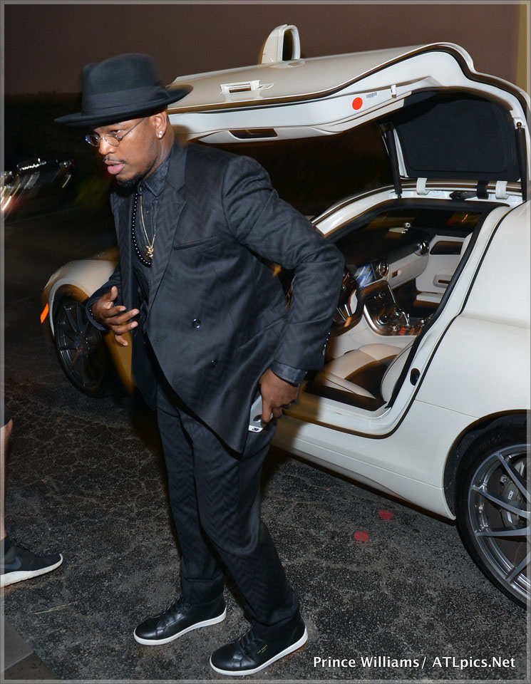 Ne-Yo arrives at Jeezy Street Dreamz Foundation Dinner