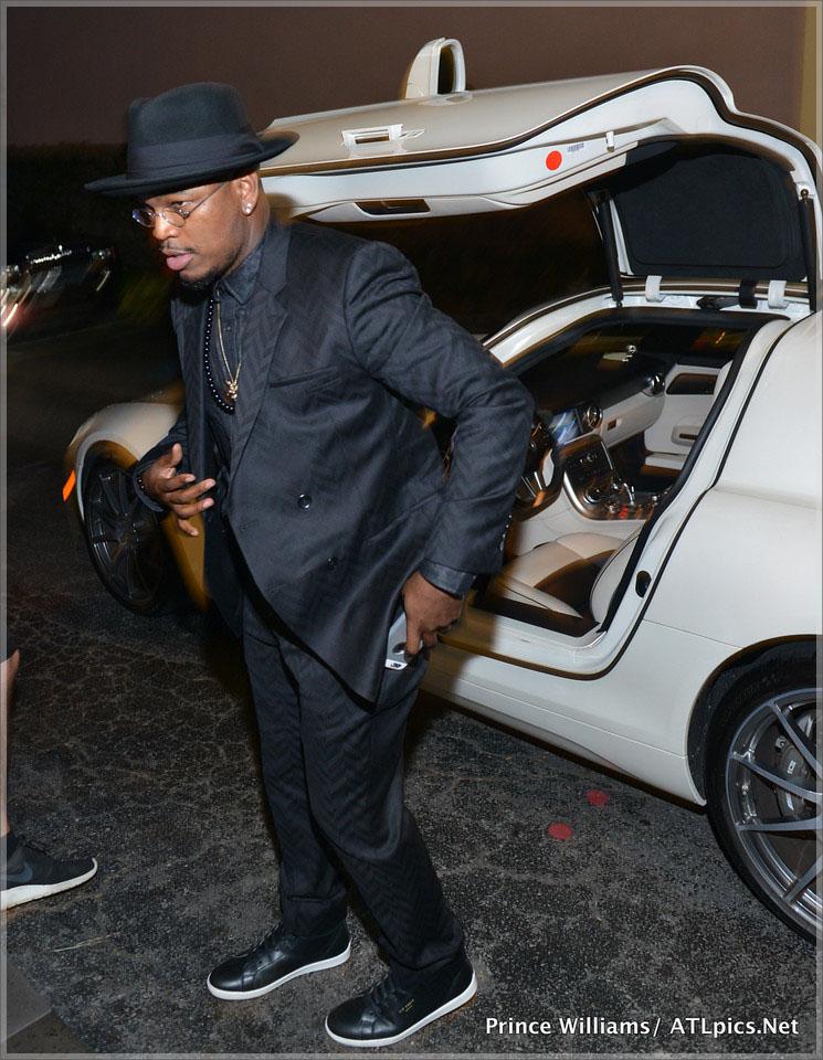Ne-Yo arrives at Jeezy Street Dreamz Foundation Dinner