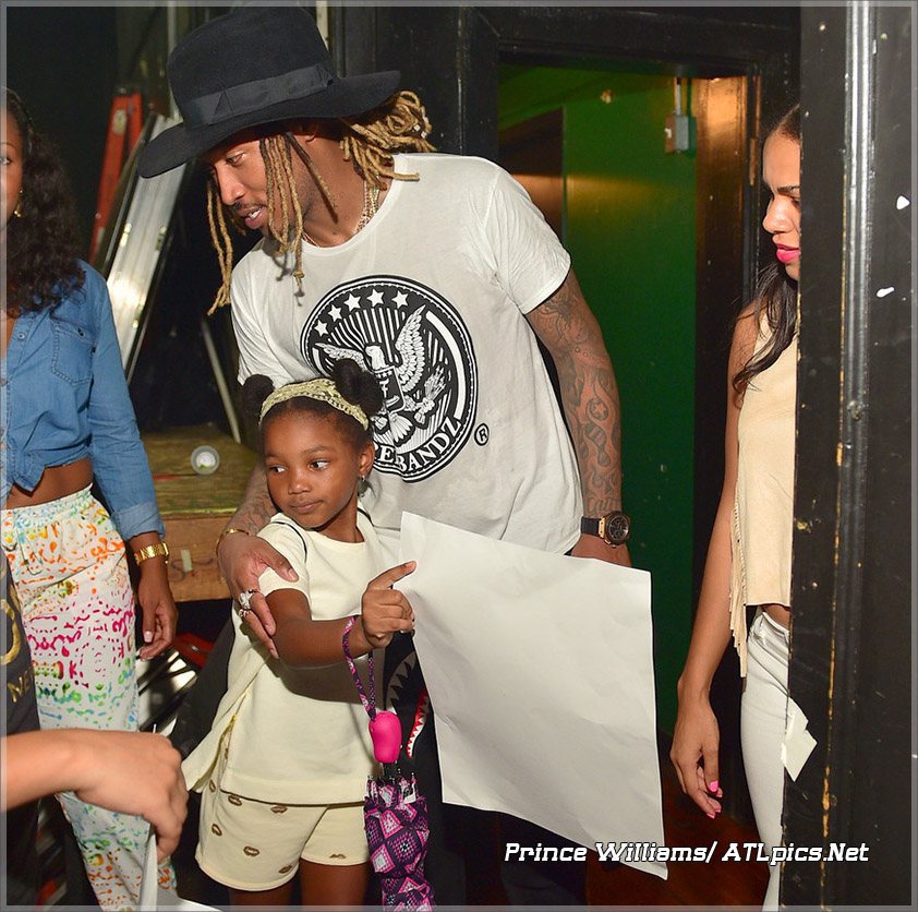 Future and his daughter