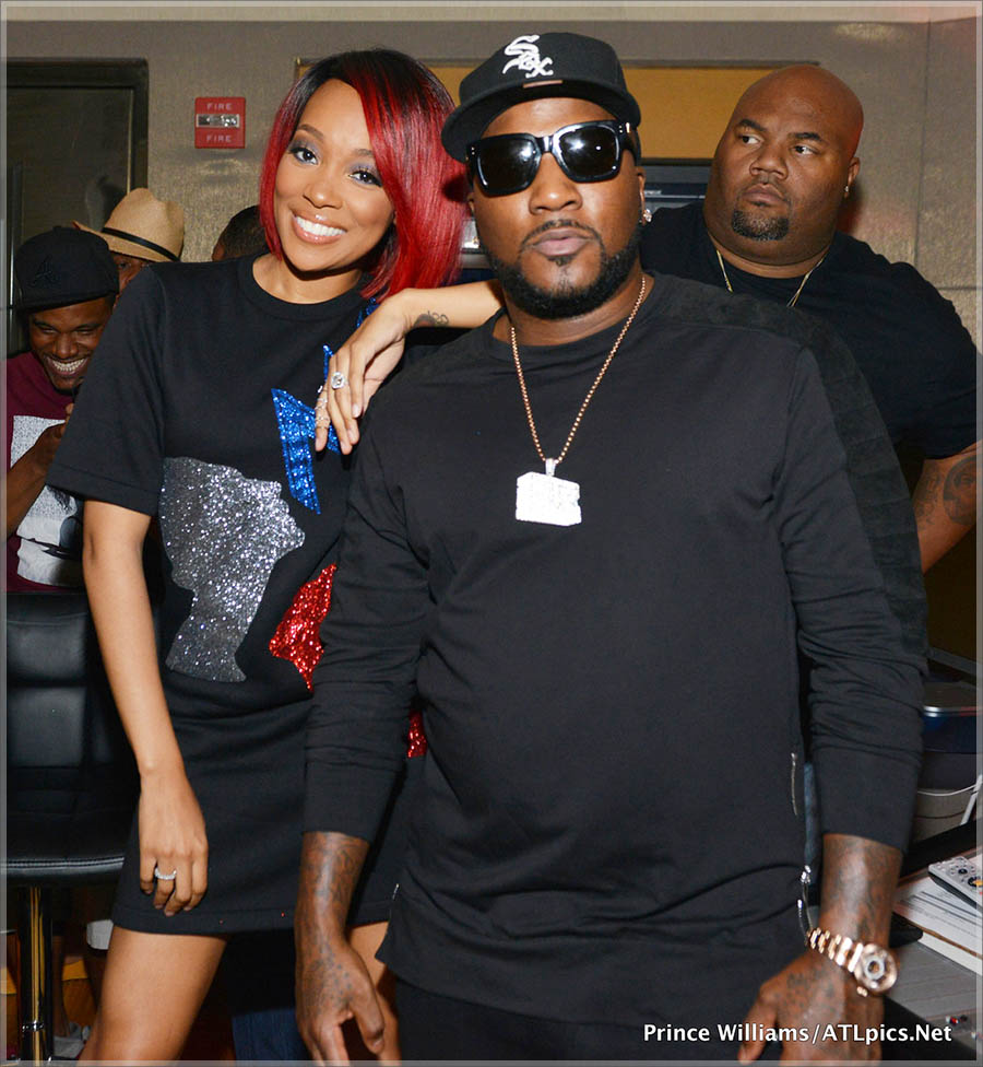 Monica and Jeezy