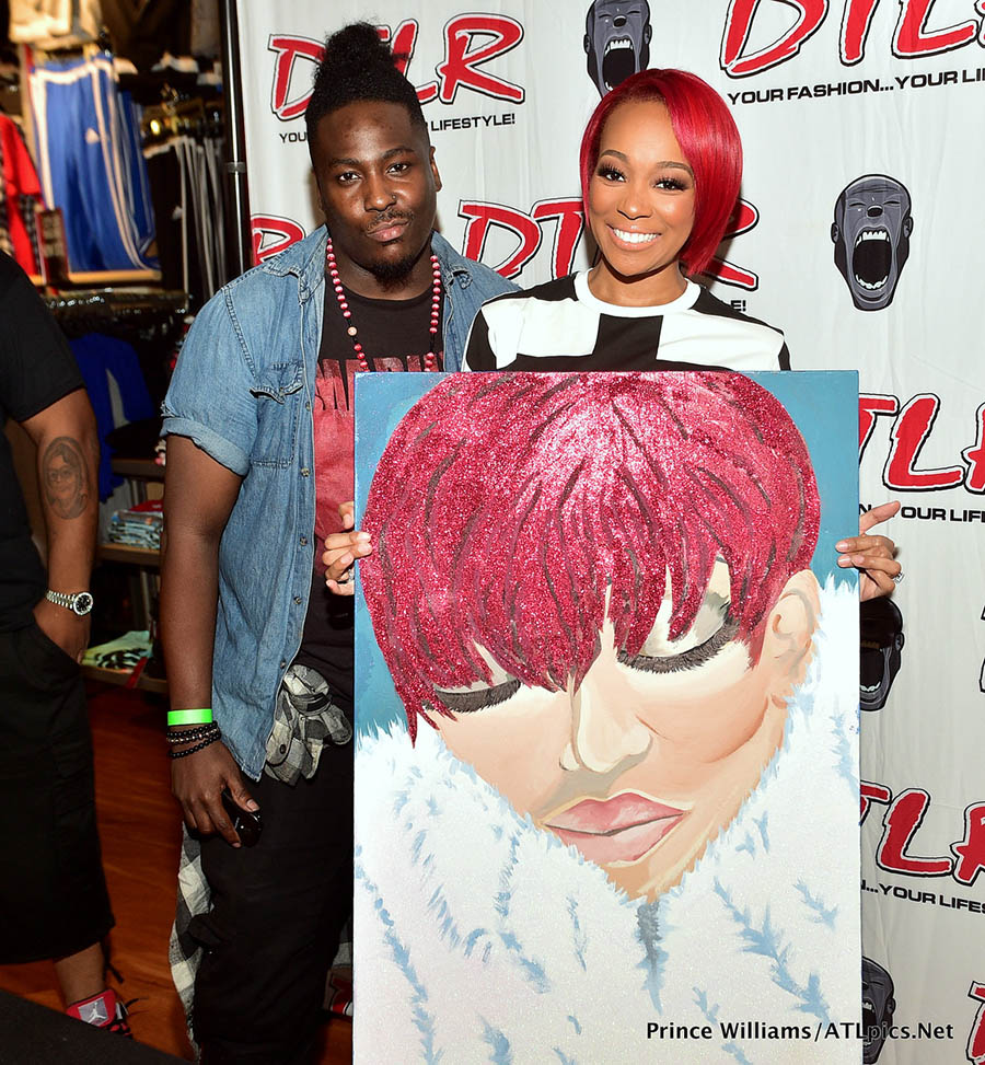 Monica Brown Meet and Greet at DTLR