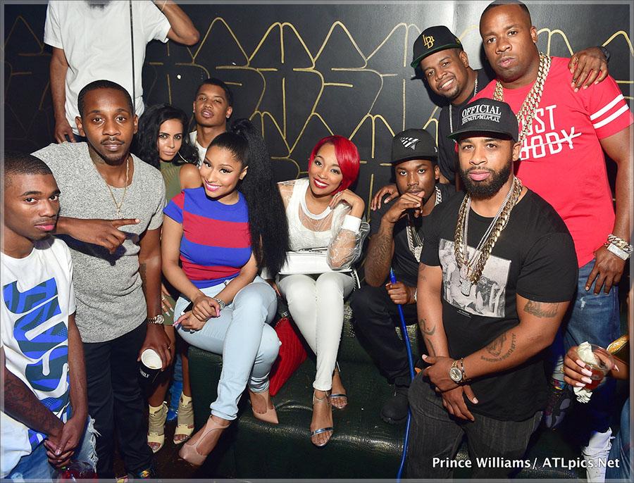 Meek Mill Hosts XS Lounge in Atlanta