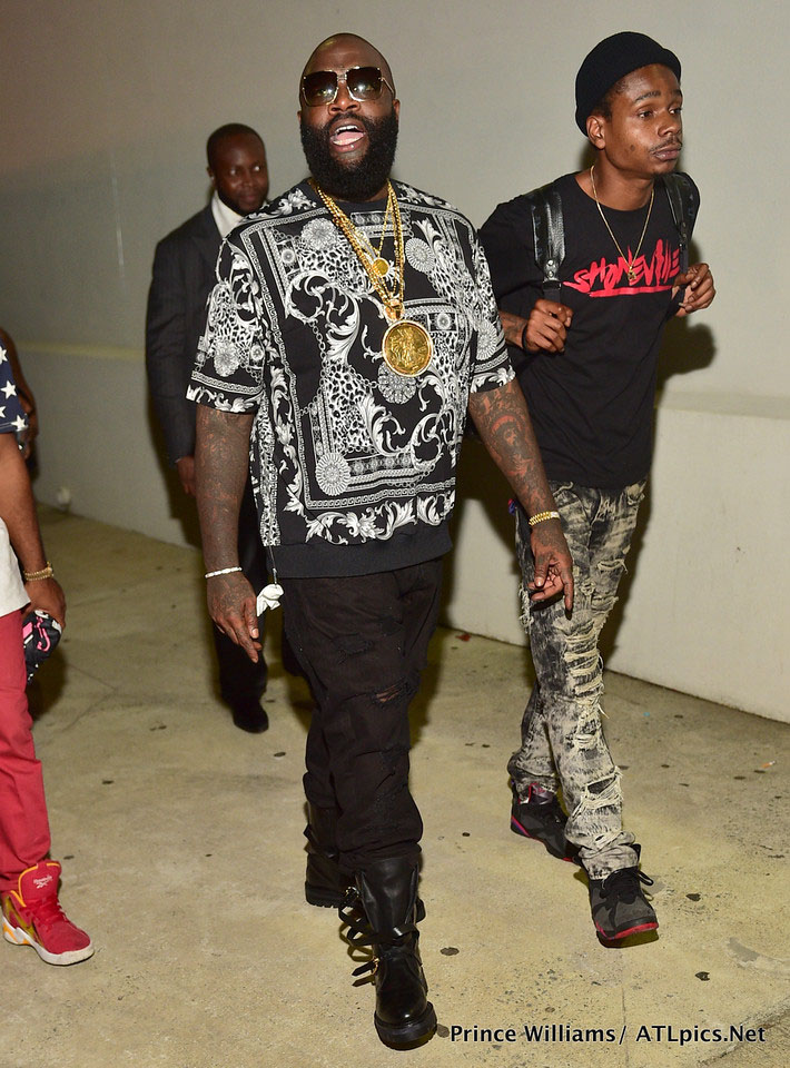 Rick Ross Hosts Compound Sundays