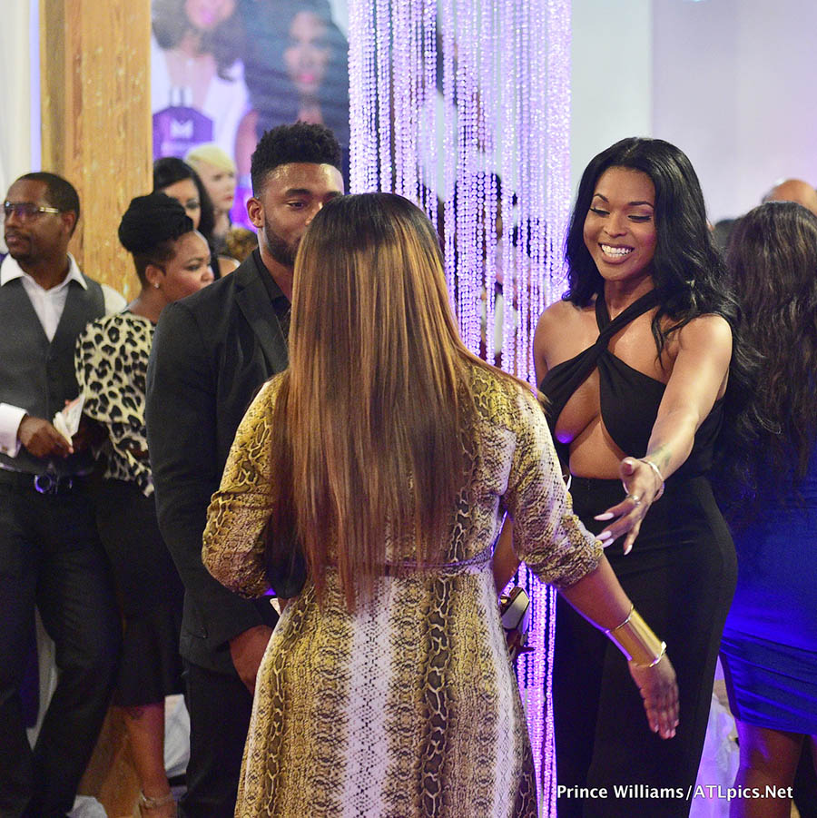 Stars Attend Kenya Moore Hair Care Launch Event