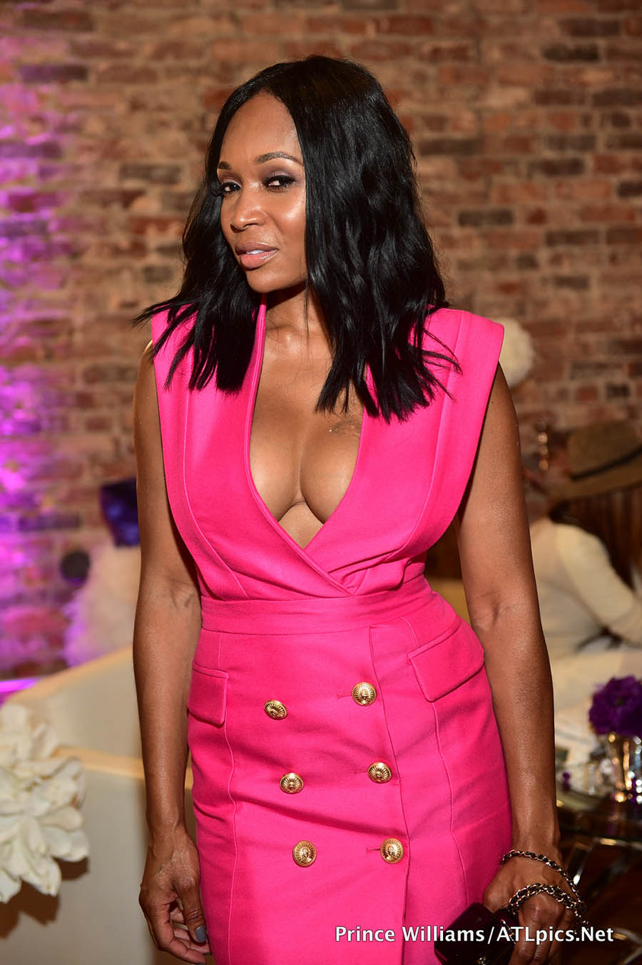 stars attend kenya moore u0026 39 s hair care launch event in atlanta