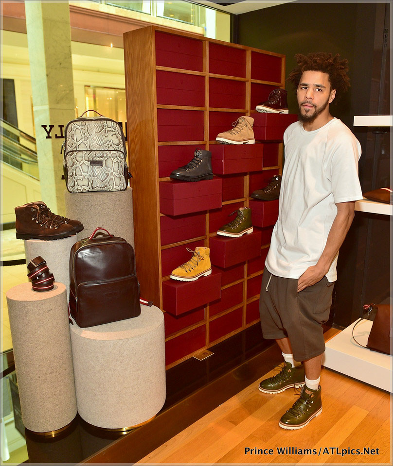 J Cole for Bally Meet and Greet in Atlanta