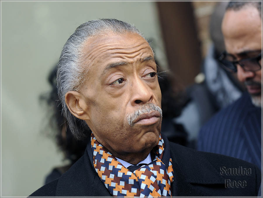 Rev Al Sharpton meets with Sony executives