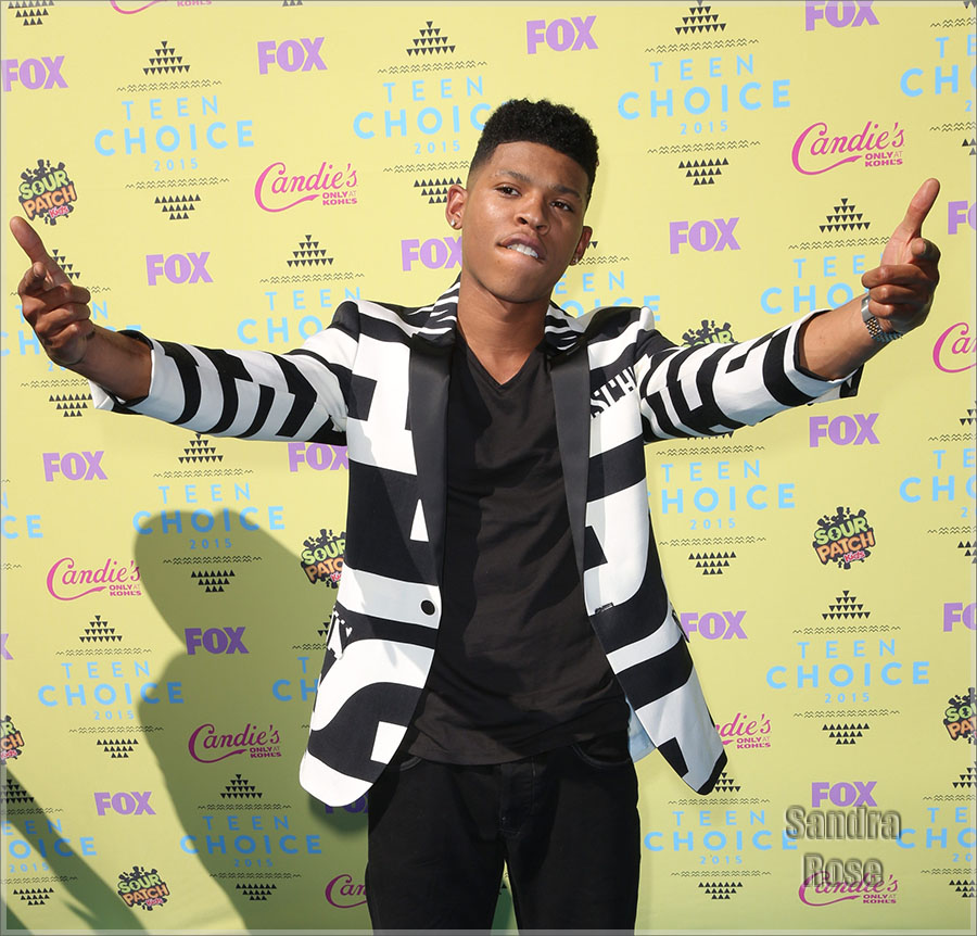 Bryshere Gray attends Teen Choice Awards 2015