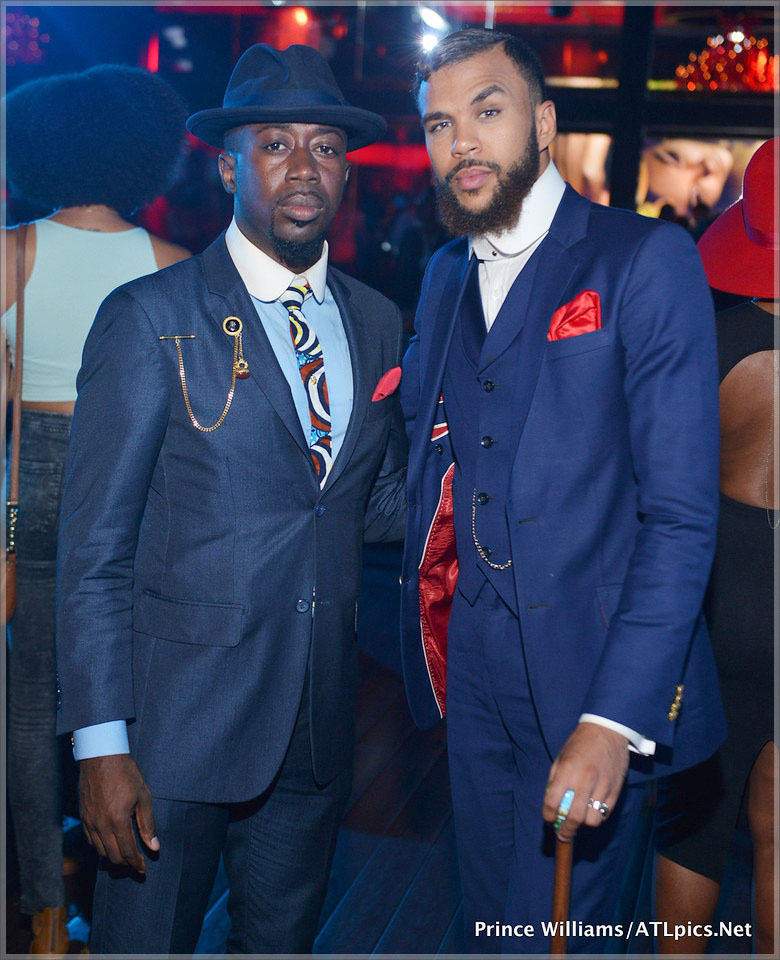 Jidenna attends 2 Chainz mixtape release party at SOHO