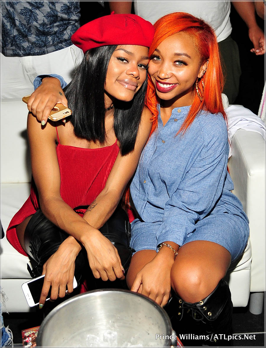 Teyana Taylor and Zonnique