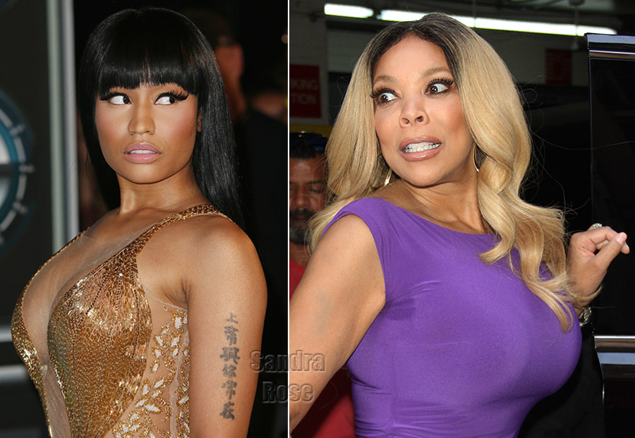 Nicki Minaj Wendy Williams