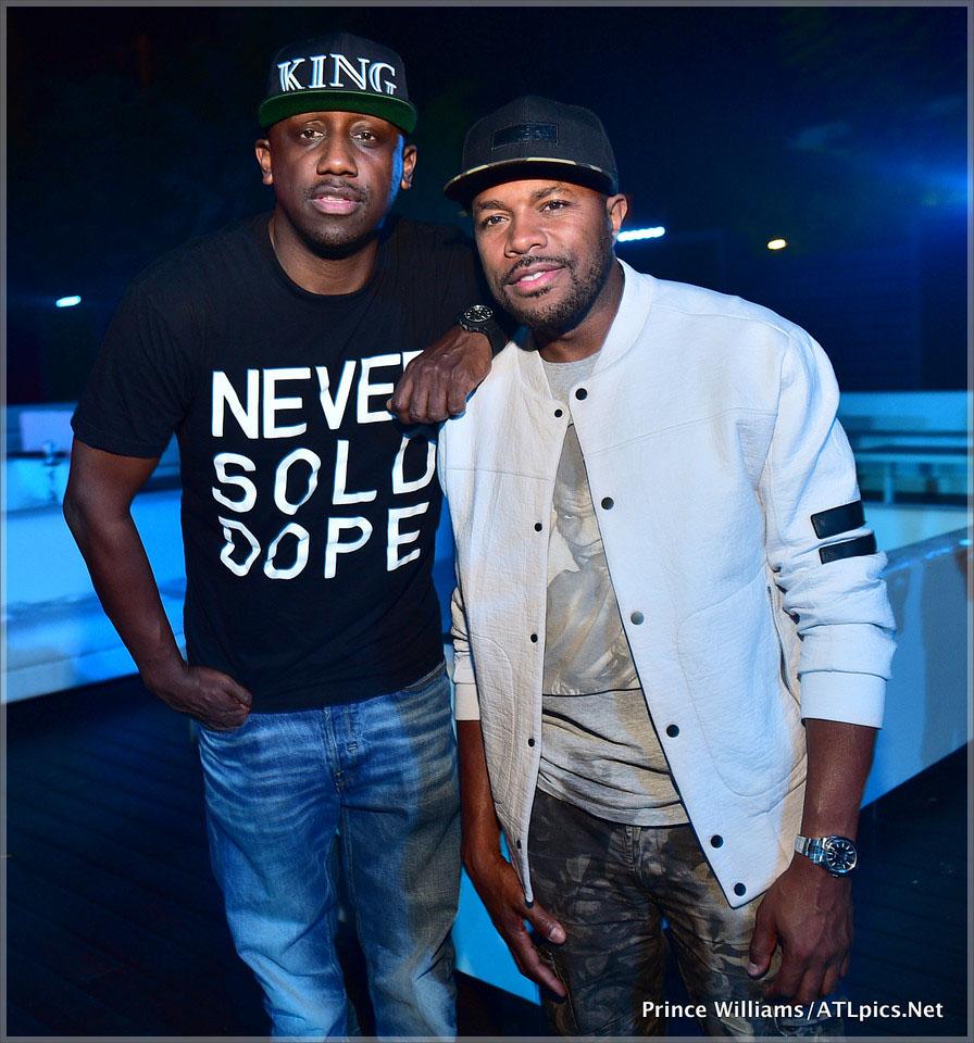 Shaka Zulu and DJ D-Nice