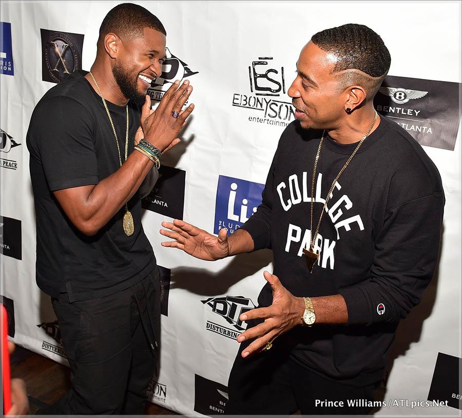 Usher and Ludacris