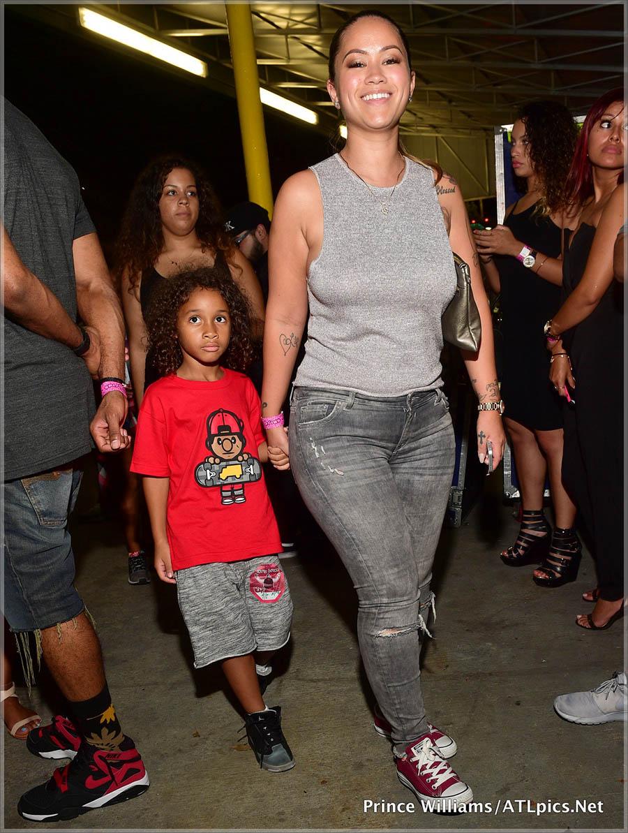 Sarah Vivan and son