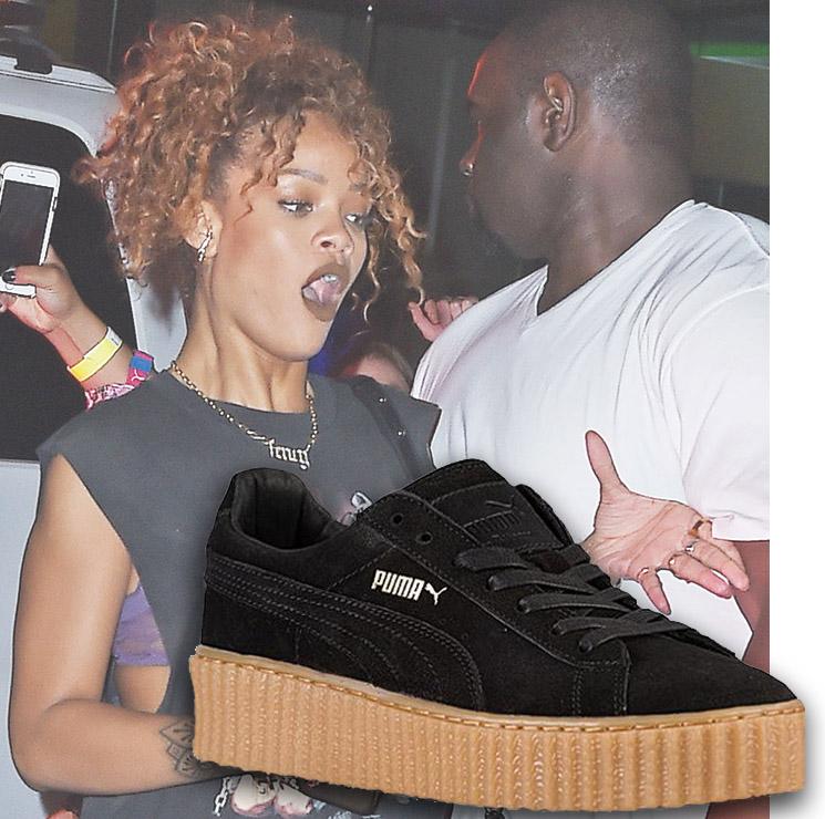 Rihanna x Puma sued Creeper sneaker