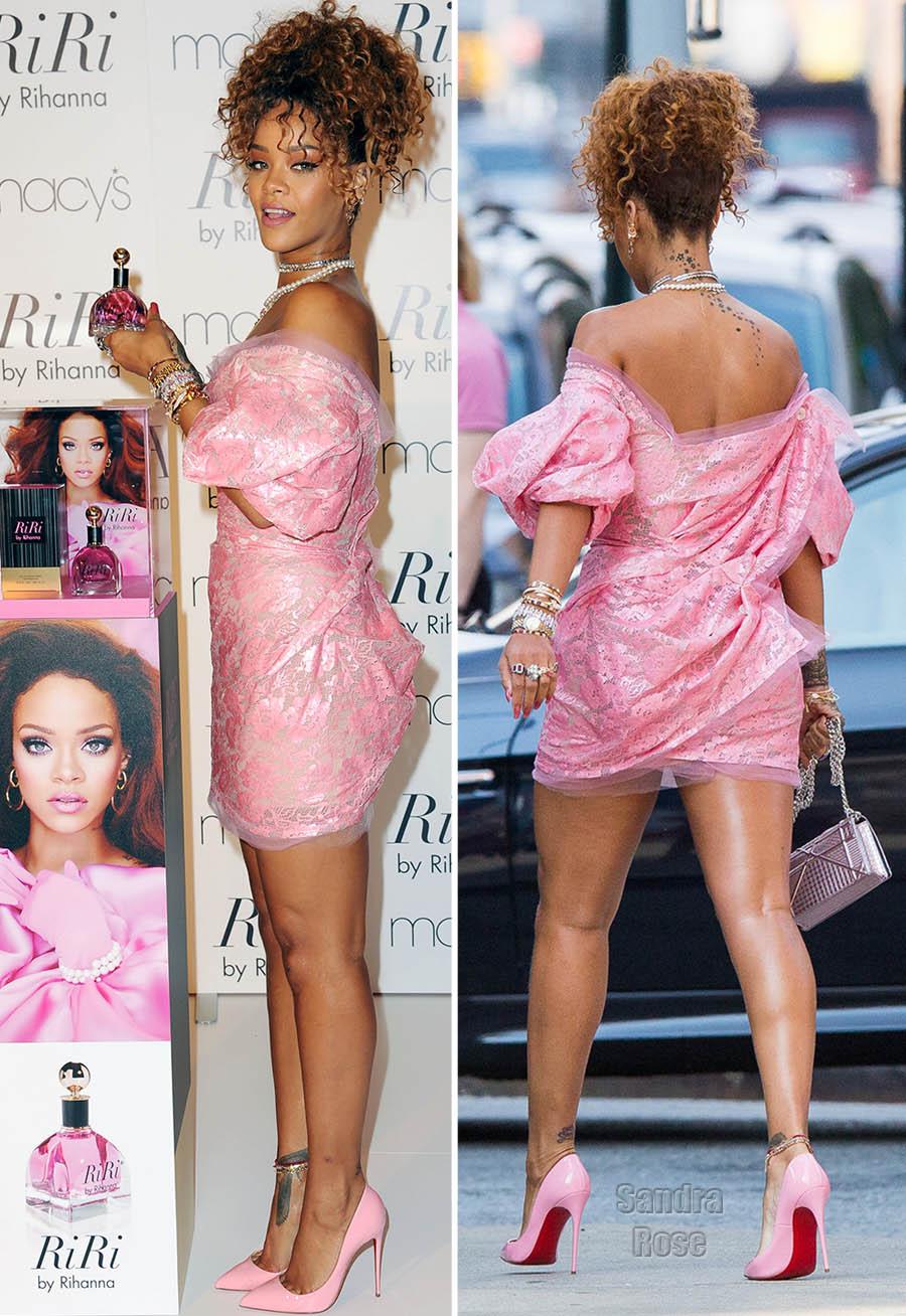 Rihanna launches new fragrance at Macys