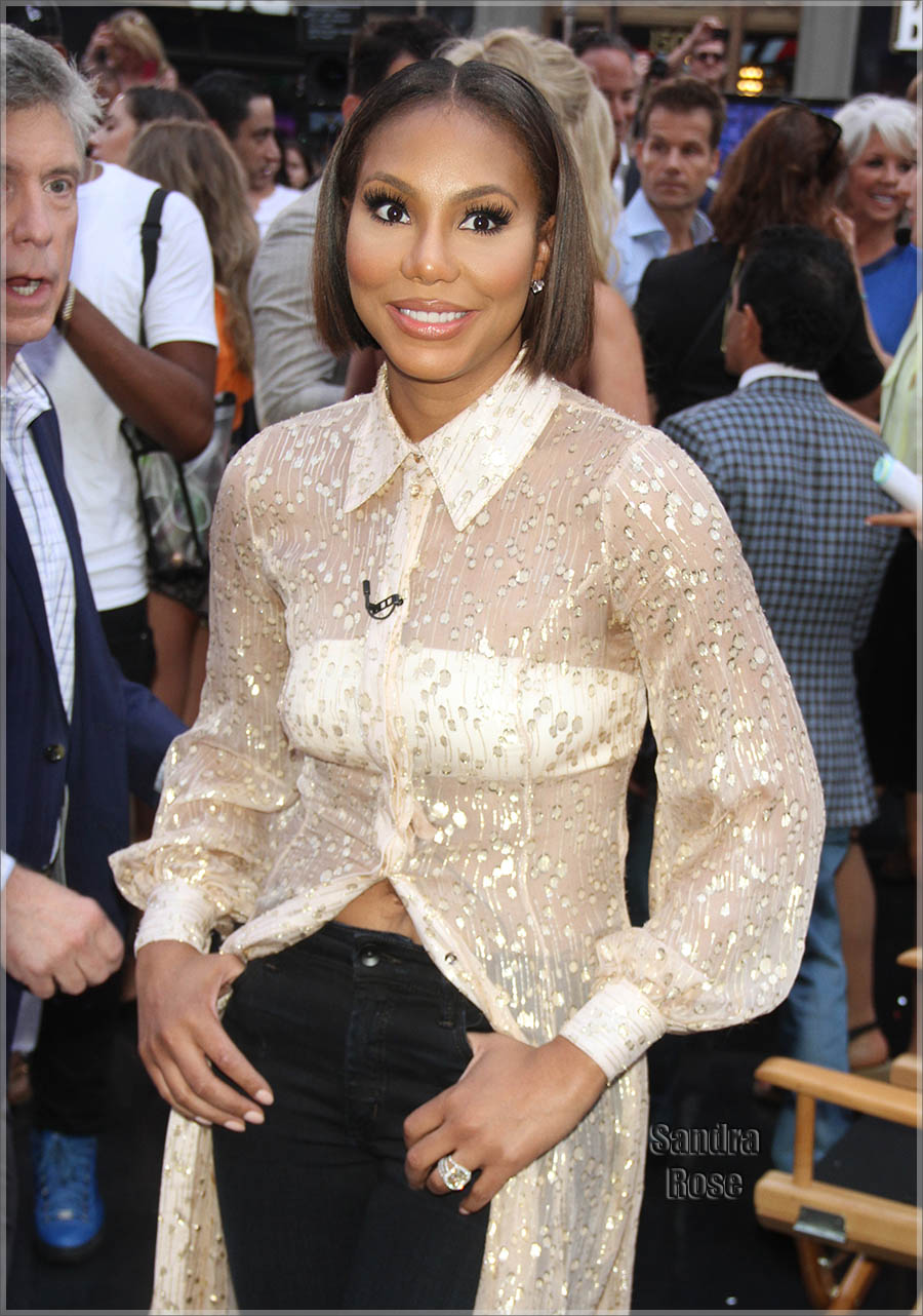 Celebrities at GMA for 'Dancing With The Stars'
