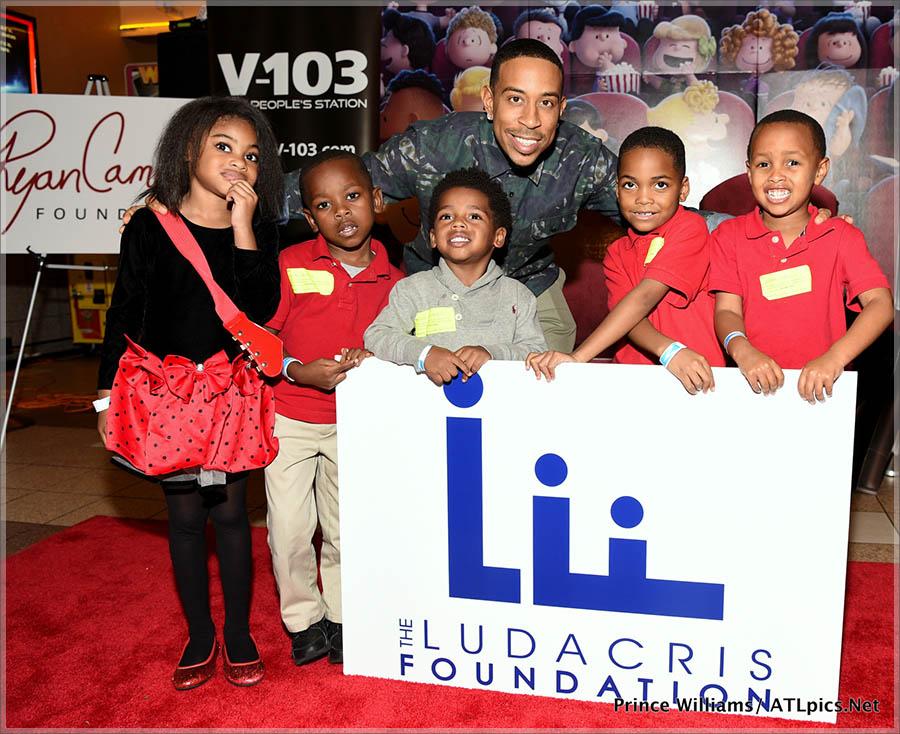 Peanuts Movie Screening Hosted by Ludacris