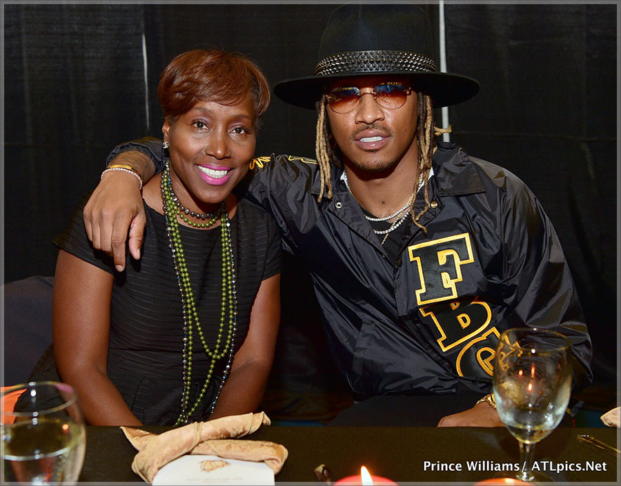 Future and his mom Stephanie Jester