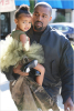 Kanye West takes daughter North to ballet