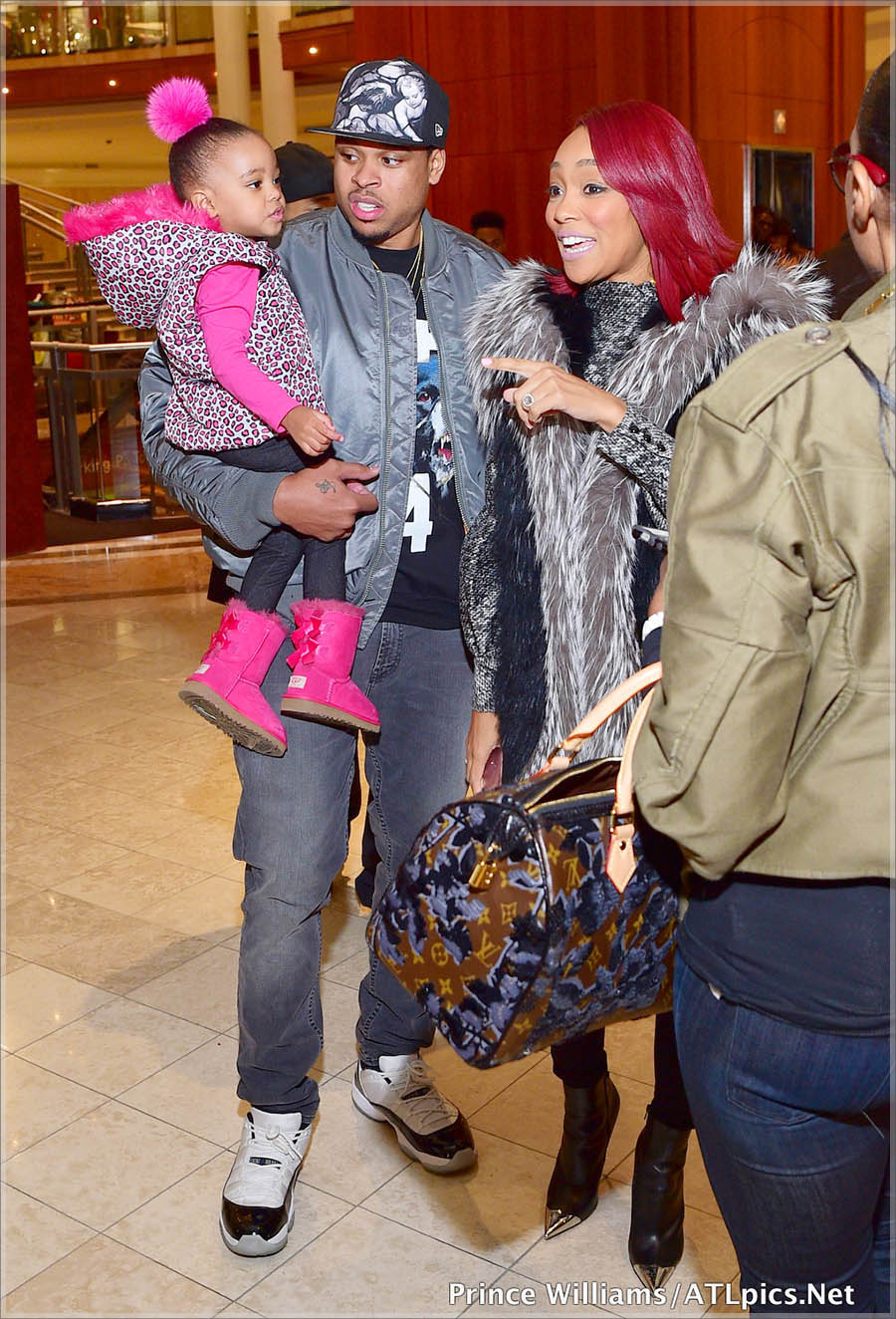 Monica Brown and family