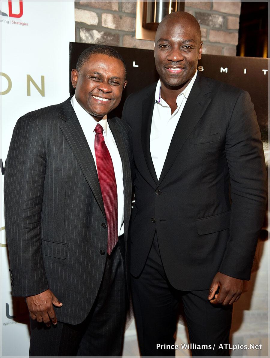 Adewale Akinnuoye-Agbaje and Dr. Bennet Omalu